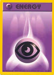 1999 Pokemon Base Unlimited #101  Psychic Energy (C)