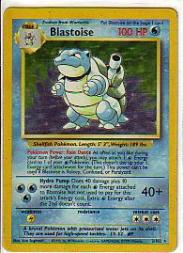 1999 Pokemon Base Unlimited #2 Blastoise (holo) (R)