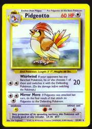 1999 Pokemon Base Unlimited #22  Pidgeotto (R)