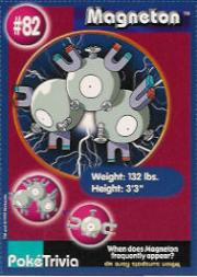 1999 Pokemon Burger King #82  Magneton
