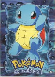 1999 Pokemon: The First Movie - Topps #E7  Squirtle