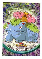 2000 Pokemon TV Animation  Topps #3  Venusaur