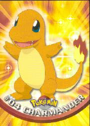 2000 Pokemon TV Animation  Topps #4  Charmander