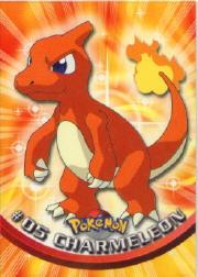 2000 Pokemon TV Animation  Topps #5  Charmeleon