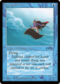 1993 Magic the Gathering Arabian Nights #36  Flying Men C5 :B: