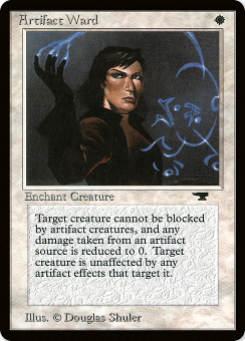 1994 Magic the Gathering Antiquities #9  Artifact Ward C4:W: