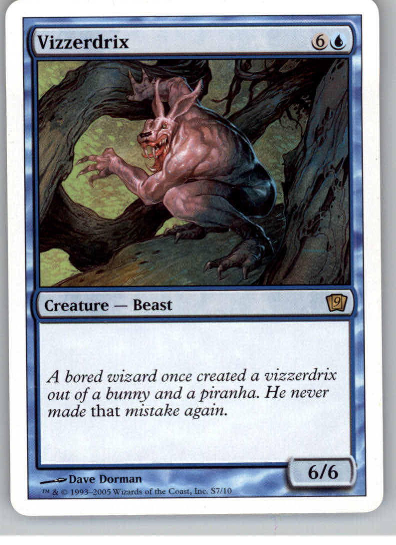 2005 Magic the Gathering 9th Edition #336  Vizzerdrix R :B: