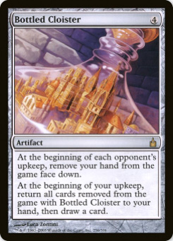 2005 Magic the Gathering Ravnica: City of Guilds #20  Bottled Cloister R :A: