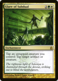 2005 Magic the Gathering Ravnica: City of Guilds #104  Glare of Subdual R :D: