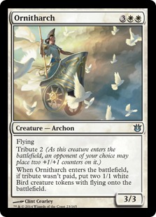 2014 Magic The Gathering Born of the Gods #23 Ornitharch U :W: