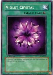 2002 Yu-Gi-Oh Legend of Blue Eyes White Dragon 1st Edition #LOB-42  Violet Crystal (SP)
