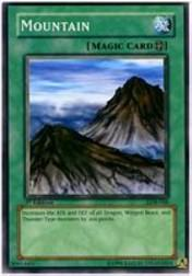 2002 Yu-Gi-Oh Legend of Blue Eyes White Dragon 1st Edition #LOB-48  Mountain