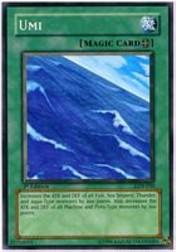 2002 Yu-Gi-Oh Legend of Blue Eyes White Dragon 1st Edition #LOB-50  Umi
