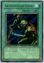 2002 Yu-Gi-Oh Legend of Blue Eyes White Dragon 1st Edition #LOB65 Gravedigger Ghoul R