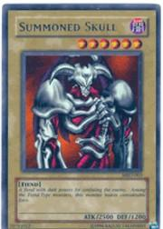 2002 Yu-Gi-Oh Metal Raiders 1st Edition #MRD3 Summoned Skull UR