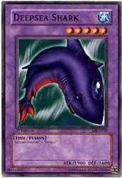 2002 Yu-Gi-Oh Metal Raiders 1st Edition #MRD-38  Deepsea Shark