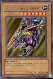 2002 Yu-Gi-Oh Legend of Blue Eyes White Dragon Unlimited #LOB-6  Gaia The Fierce Knight (UR)