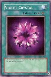 2002 Yu-Gi-Oh Legend of Blue Eyes White Dragon Unlimited #LOB-42  Violet Crystal (SP)