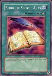 2002 Yu-Gi-Oh Legend of Blue Eyes White Dragon Unlimited #LOB-43  Book of Secret Arts (SP)