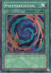 2002 Yu-Gi-Oh Legend of Blue Eyes White Dragon Unlimited #LOB-59  Polymerization (SR)