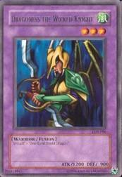 2002 Yu-Gi-Oh Legend of Blue Eyes White Dragon Unlimited #LOB-86  Dragoness The Wicked K(R)