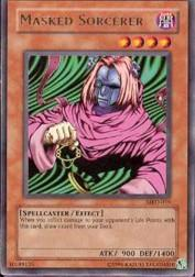 2002 Yu-Gi-Oh Metal Raiders Unlimited #MRD-19  Masked Sorcerer (R)