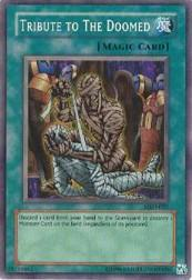 2002 Yu-Gi-Oh Metal Raiders Unlimited #MRD-57  Tribute to the Doomed (SR)