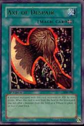 2002 Yu-Gi-Oh Magic Ruler 1st Edition #MRL2 Axe of Despair UR