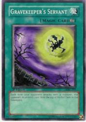 2002 Yu-Gi-Oh Magic Ruler 1st Edition #MRL-31  Gravekeeper's Servant