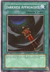 2002 Yu-Gi-Oh Magic Ruler 1st Edition #MRL-40  Darkness Approaches