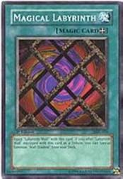 2002 Yu-Gi-Oh Magic Ruler 1st Edition #MRL-59 Magical Labyrinth