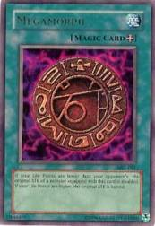2002 Yu-Gi-Oh Magic Ruler Unlimited #MRL-61  Megamorph (UR)