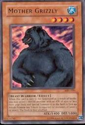2002 Yu-Gi-Oh Magic Ruler Unlimited #MRL-90  Mother Grizzly (R)