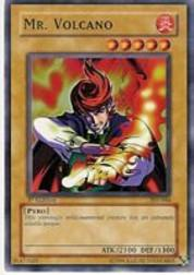 2002 Yu-Gi-Oh Pharaoh's Servant 1st Edition #PSV-44  Mr.Volcano