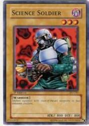 2002 Yu-Gi-Oh Pharaoh's Servant 1st Edition #PSV-97  Science Soldier