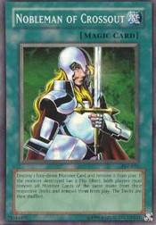 2002 Yu-Gi-Oh Pharaoh's Servant Unlimited #PSV-34  Nobleman of Crossout (SR)