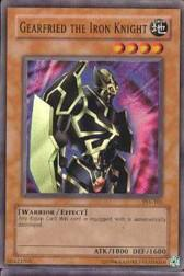 2002 Yu-Gi-Oh Pharaoh's Servant Unlimited #PSV-101  Gearfried the Iron Knight (SR)