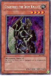 2003 Yu-Gi-Oh Collector Tins #BPT012 Gearfried the Iron Knight