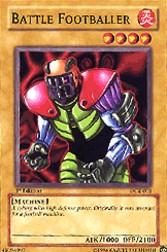 2003 Yu-Gi-Oh Dark Crisis 1st Edition #DCR1 Battle Footballer C