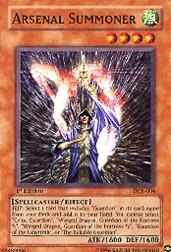 2003 Yu-Gi-Oh Dark Crisis 1st Edition #DCR4 Arsenal Summoner C