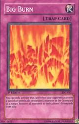 2004 Yu-Gi-Oh Invasion of Chaos 1st Edition #IOC-47  Big Burn (SR)