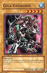 2004 Yu-Gi-Oh Invasion of Chaos 1st Edition #IOC-56  Giga Gagagigo (SP)