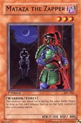 2004 Yu-Gi-Oh Invasion of Chaos 1st Edition #IOC-86  Mataza the Zapper (R)