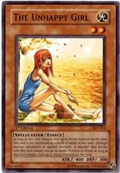 2004 Yu-Gi-Oh Ancient Sanctuary 1st Edition #AST10 The Unhappy Girl