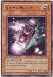2004 Yu-Gi-Oh Ancient Sanctuary 1st Edition #AST24 Atomic Firefly