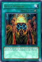 2004 Yu-Gi-Oh Dark Beginnings 1 #DB1EN245 Mage Power (UR)