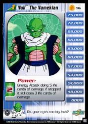 2000 Dragon Ball Z Frieza Saga Limited #96  Nail The Namekian (level 1) R