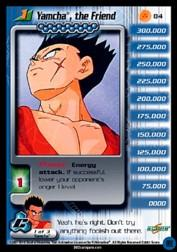 2001 Dragon Ball Z Cell Saga #84  Yamcha, the Friend (Level 1) U