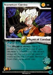 2002 Dragon Ball Z World Games Saga Limited #66  Namekian Combo U