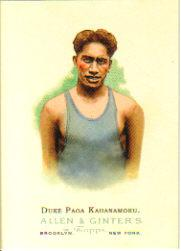 2006 Topps Allen and Ginter #302 Duke Paoa Kahanamoku
